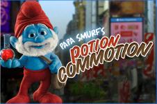 Strumfi 2 Jocuri - Papa Strumf Potiunea Magica