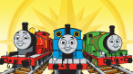 Trenuletul Thomas si Prietenii Mari Descoperiri (15 010 ori)
